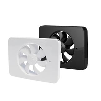 iq ventilator zwart wit