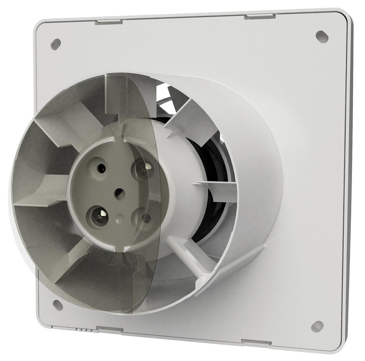 vent-axia supra ventilator achterkant